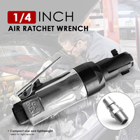 90psi Square Drive Straight Shank Air Ratchet Wrench Professional Pneumatic Ratchet Wrench 1/4 3/8 Pneumatic Tool