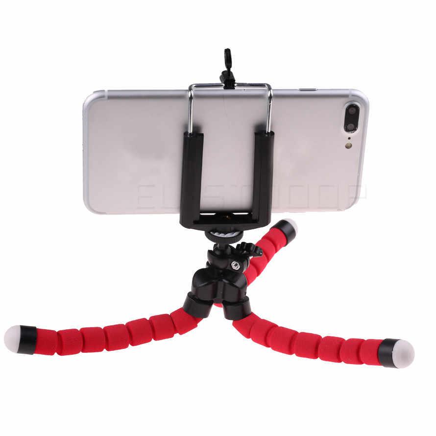 電話の三脚ミニ柔軟なタコ三脚 iphone サムスン xiaomi huawei 社の携帯電話スマートフォンミニポータブル三脚ホルダー