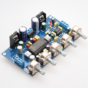 Image 5 - DIY Power Verstärker Ton Bord Spannung Verstärker LM4610 Ton + 5532 Verstärkung Front Bühne Fertig Produkte