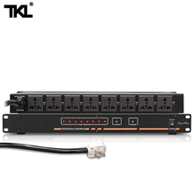 TKL D8 8Ch Power sequence Automatic Air switch power strip bar Effectively protect the switch improve