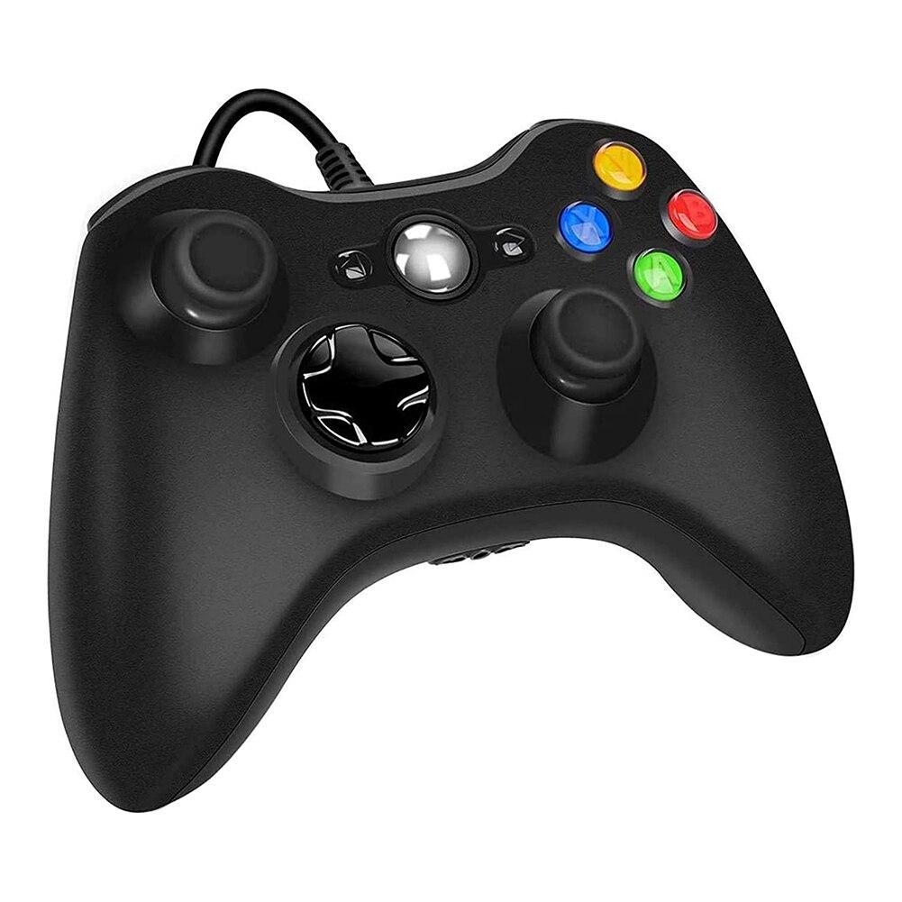 Проводной пульт управления для Microsoft Xbox 360 и Windows PC (Windows 10/8.1/8/7) с двойной вибрацией и эргономичным проводным управлением игрой