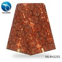 LIULANZHI High Quality cotton wax prints 6 yards/lot ankara sewing wax material dress african wax printing ML9H2243 55