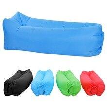 Надувной диван-шезлонг с рюкзаком портативный гамак прочный надувной воздушный диван легко надувать дутый стул ветряной мешок водонепроницаемый