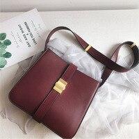 Luxury Genuine Leather Shoulder Bag Women High Quality Crossbody Messenger Bag Brand Fashion Ladies Flap Bag