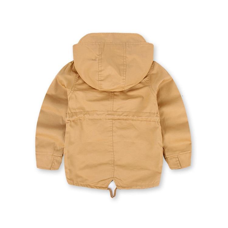 Benemaker Children Winter Outdoor Fleece Jackets For Boys Clothing Hooded Warm Outerwear Windbreaker Baby Kids Thin Coats YJ023 15