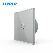 Livolo الفاخرة الجدار مفتاح مستشعر باللمس ، مفتاح الإضاءة ، التبديل السلطة ، والزجاج والكريستال ، مقبس الطاقة ، مآخذ متعددة الوظائف ، واختيار حر