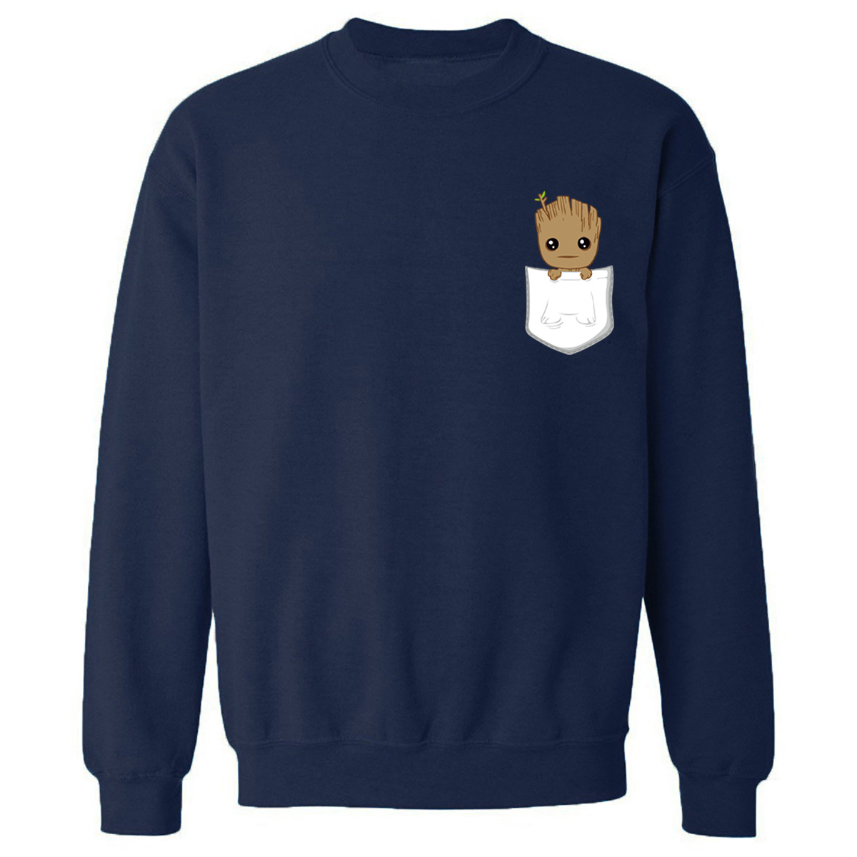I AM Groot Hoodies Cute Print Hoodie Men Funny Sweatshirt 2019 New Autumn Tops Homme Marvel Groot Pullovers Casual Sweatshirts