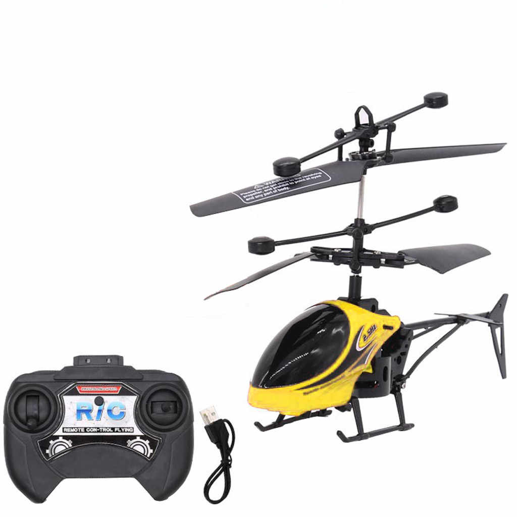 Remote control Mini RC Infrared Induction Remote Control RC Toy 2CH Gyro Helicopter RC Drone Radio controlled machines D30829