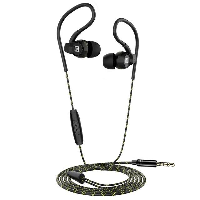 Langsdom Sp80A/B בס אוזניות Wired אוזניות נגד סתיו באוזן אוזניות עם מיקרופון אוזניות עבור טלפון auriculares fone דה ouvido