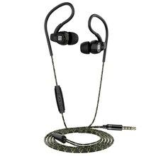 Langsdom Sp80A/B bas kulaklıklar kablolu kulaklık Anti Fall Mic ile kulak kulaklık kulaklık için telefon auriculares fone de ouvido