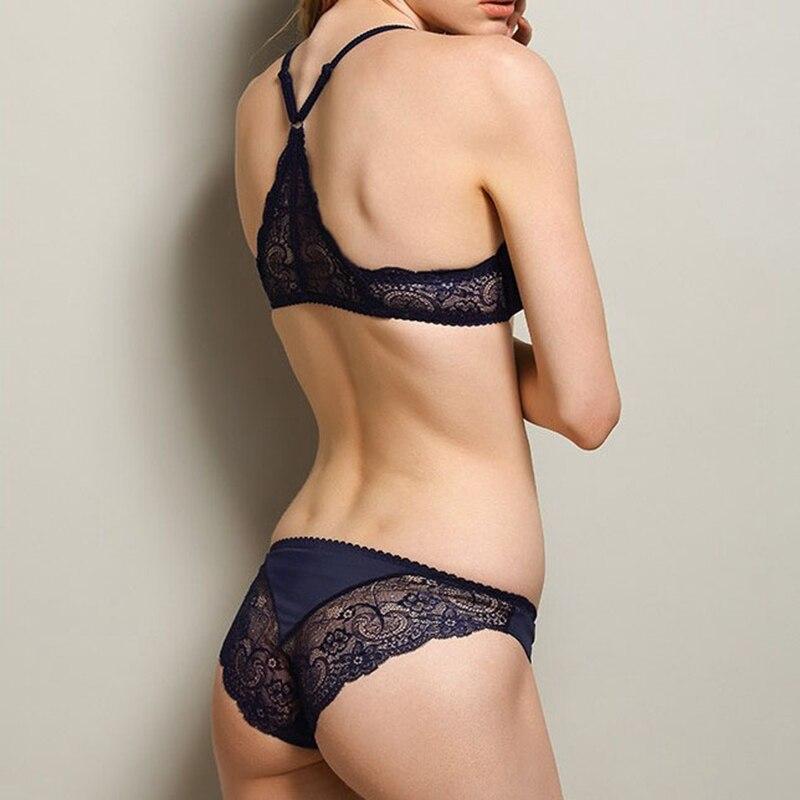 DAINAFANG Сутиени Дълбоко V Секси Y-Line - Бельо - Снимка 4