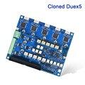 Клонированная Плата расширения Duex5 интегрированная TMC2660 драйвер для термопары PT100 VS Duet 2 wifi контроллер 3d принтер ЧПУ машина