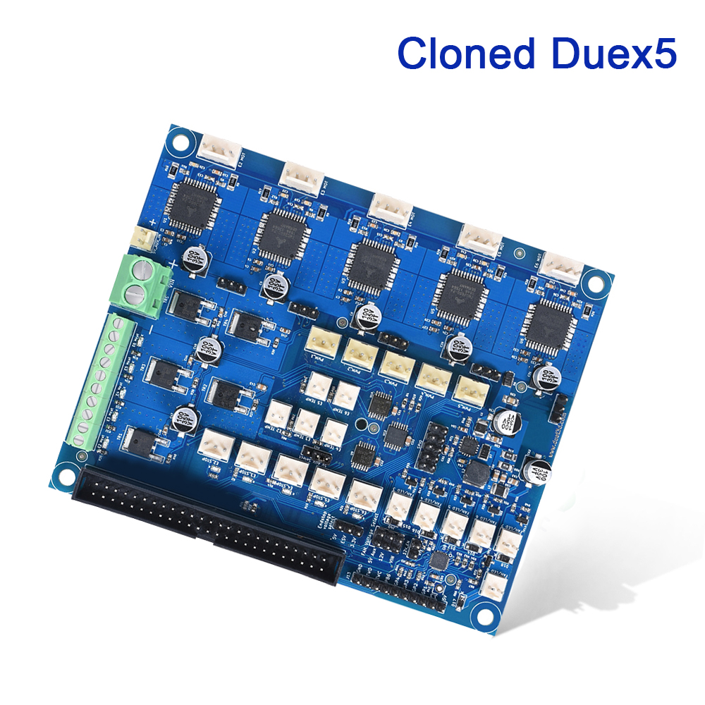 Cloned Duex5 Expansion Board Integrated TMC2660 Driver For Thermocouple PT100 VS Duet 2 WIFI Controller 3D Printer CNC Machine