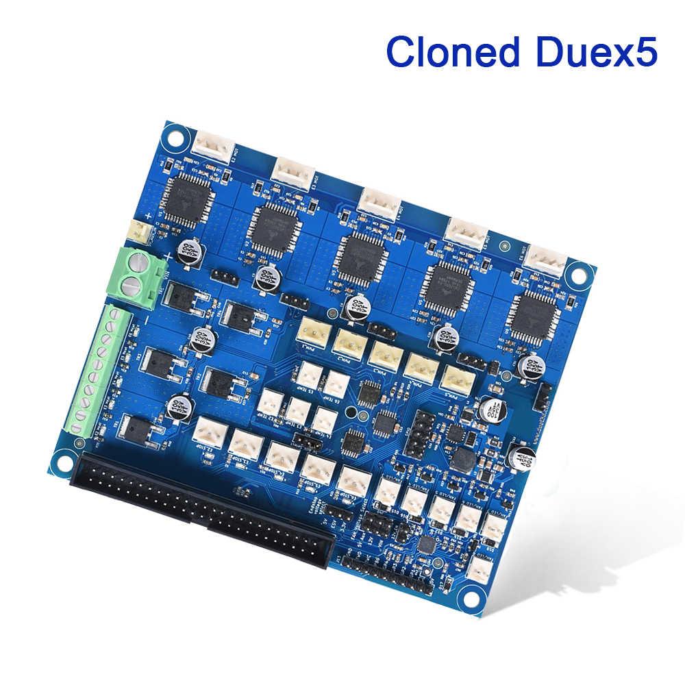 โคลน Duex5 บอร์ดขยายแบบบูรณาการ TMC2660 Driver สำหรับ Thermocouple PT100 VS Duet 2 WIFI Controller 3D เครื่องพิมพ์ CNC เครื่อง