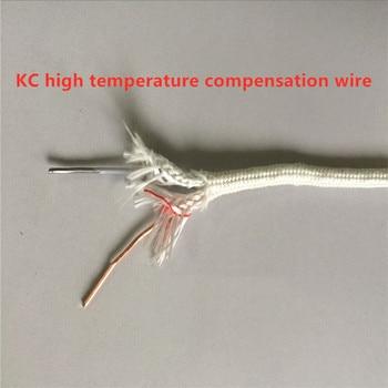 High temperature glass fiber / HF4 compensation wire / KCHF4 thermocouple compensation wire / KC high temperature compensation w фото