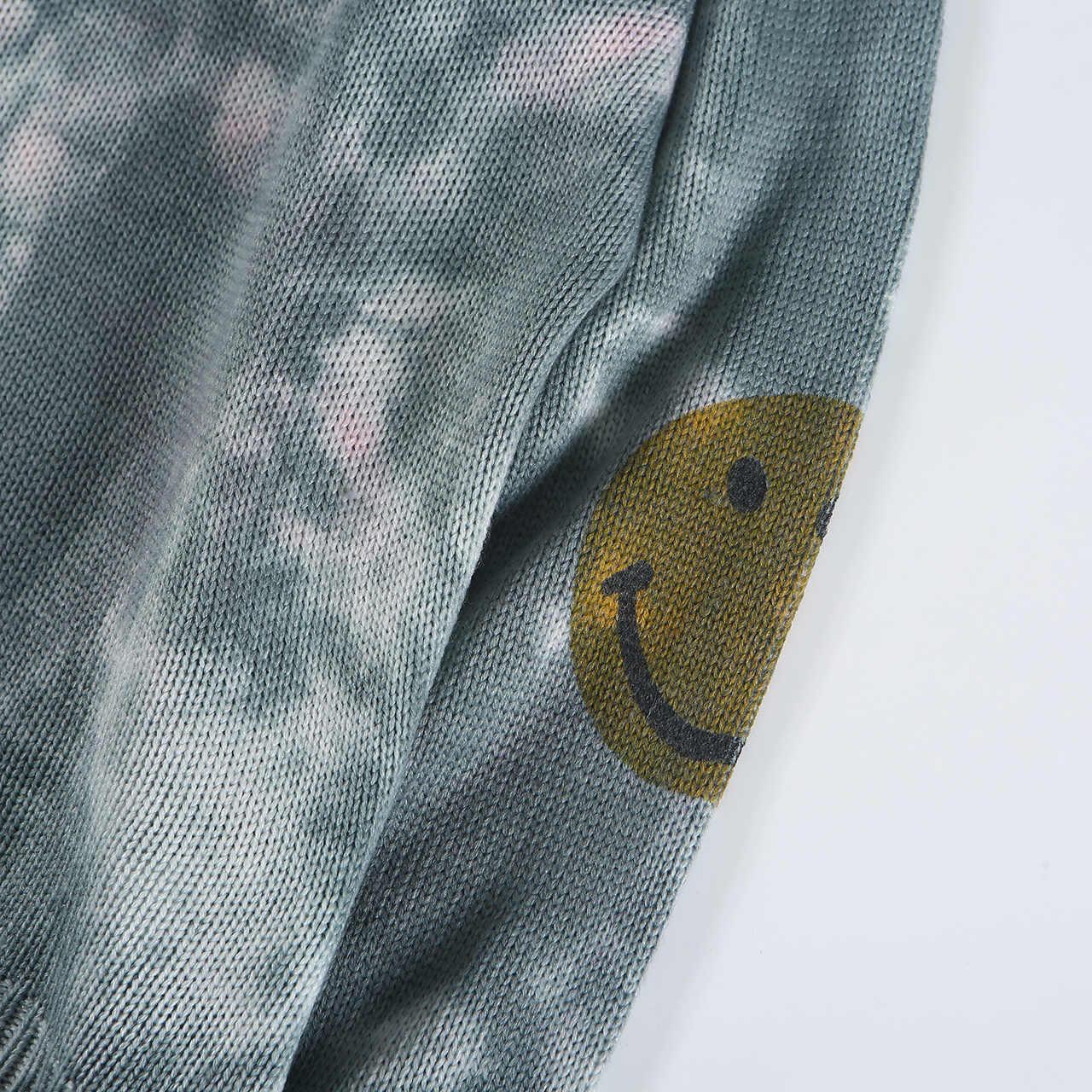 גברים של מגשרים בסדר סרוג סוודר סוודר צווארון עגול מקרית חולצות היפ הופ אופנה עבור צעירים בני פנאי חיצוני סתיו חורף