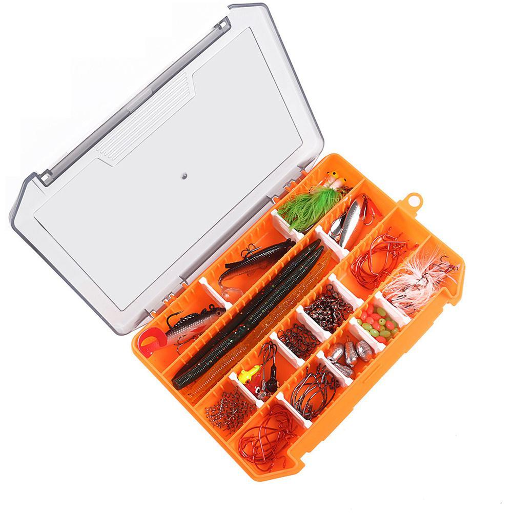 131 pcs set kit plastico vermes moles 01