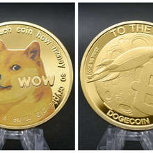 Currency-Coin Commemorative-Coins Bitcoin Digital TRX Ripple Gold/silver-Plated Physical