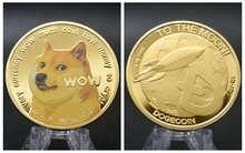 Ouro/prata chapeado modelado ethereum ripple bitcoin dogecoin trx moeda digital moedas comemorativas físicas