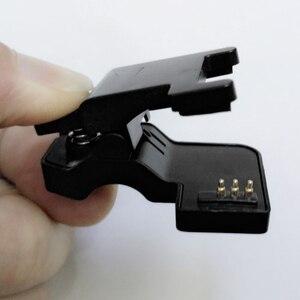 Новый TW64 68 для смарт-часов Универсальный USB кабель для зарядного устройства зажим 2/3 контактов пространство между 4/5. 5/6 мм черный