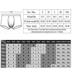 Image 5 - ยุโรปขนาดผู้ชายเซ็กซี่ชุดชั้นในฝ้ายขายาวกางเกงขาสั้น Cuecas U นูนกระเป๋ากางเกงชาย Underpants Calzoncillos 6 ชิ้น/ล็อต