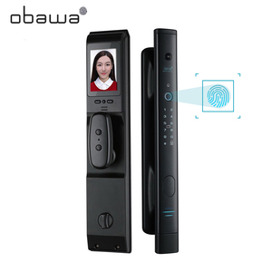 Obawa Intelligent Fingerprint Door Lock Security Electronic Door Lock Smart WiFi with Digital Code IC Card Keyless