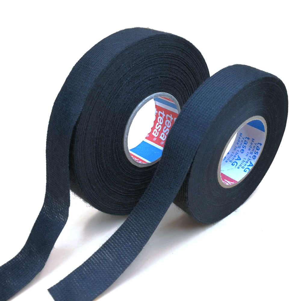 19mm x 25m adhésif tissu tissu ruban câble métiers à tisser faisceau de câblage pour TESA 51618