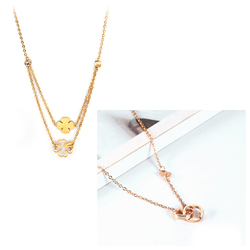 Stainless Steel Necklaces For Women Pendant Necklace Chain Chocker Necklace Women Jewelry Accessories Best Friend Necklace