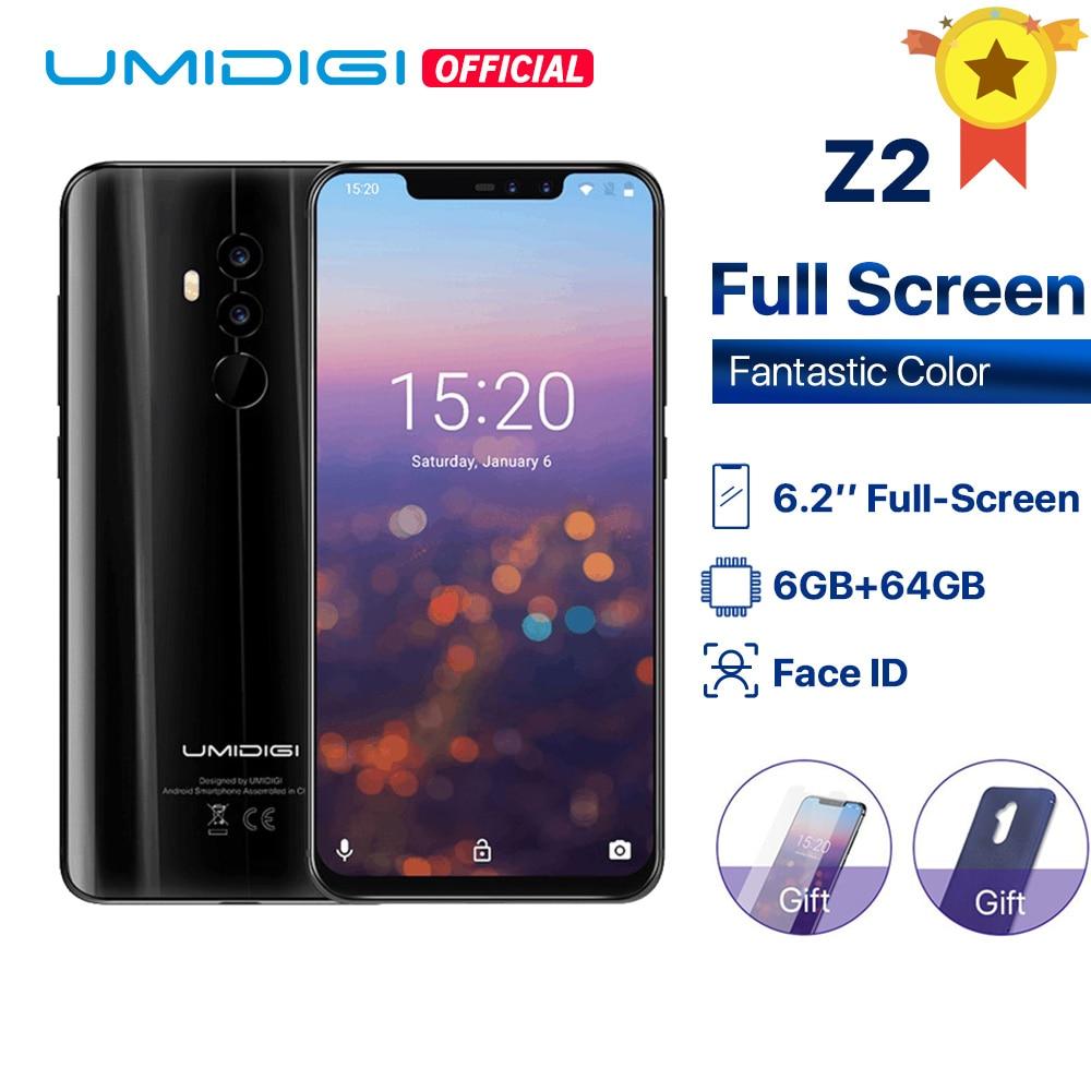UMIDIGI Z2 Global Version Helio P23 6GB RAM 64GB ROM 6.2