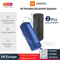 Mi Altavoz Bluetooth portátil Xiaomi 16W TWS Conexión de sonido de alta calidad IPX7 impermeable 13 horas de juego