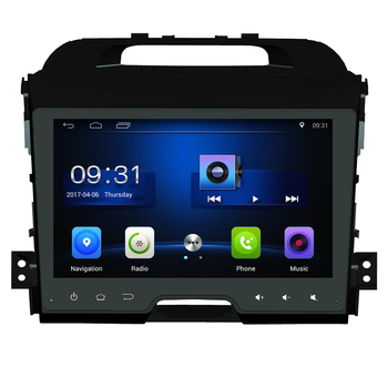 9 inch Android 10 2DIN Car GPS Navigation Radio Multimedia Player for KIA sportage 2011 2012 2013 2014 2015 Wif 3G headunit gps image