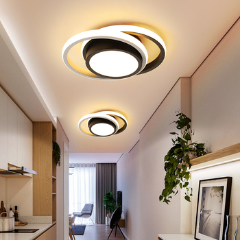 Modern LED ceiling lights for kitchen bedroom aisle corridor balcony entrance Round / square modern lamp home - discount item  25% OFF Indoor Lighting