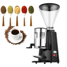 Commercial Electric Coffee Grinder Grains 1200g Bean Dry Food Milling Machine Burr Grinders Professional Tools