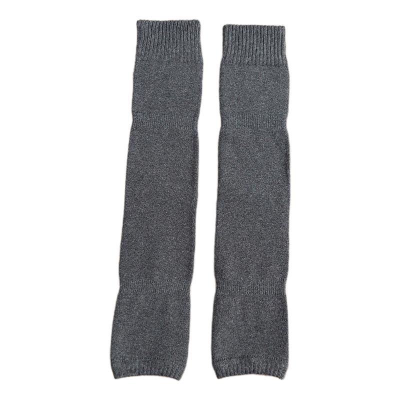 Women Winter Over Knee High Footless Socks Knit Thicken Towel Lined Leg Warmers 40JF