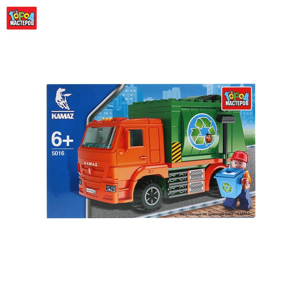 Blocks GOROD MASTEROV 243458 designer city masters for children prefabricated model toy for boys plastic parts constructor block developing
