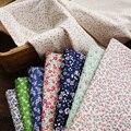 Чистая ткань хлопок 100% может иметь разный метраж, юбка Детское платье с цветочным рисунком, с рисунком в виде клубники, для шитья, дышащие, с ...