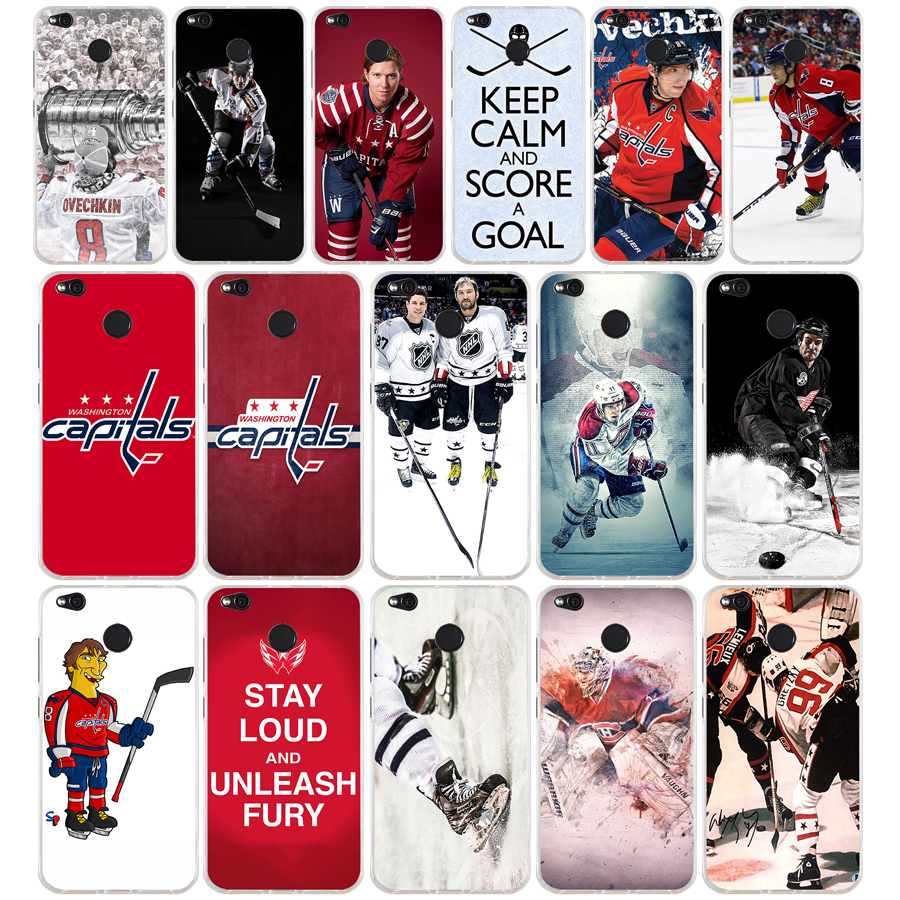 182FG Ice Hockey Alexander Ovechkin Sidney Crosby Soft Silicone Tpu Cover phone Case for xiaomi redmi note 4A 4X 6 Pro 6A(China)