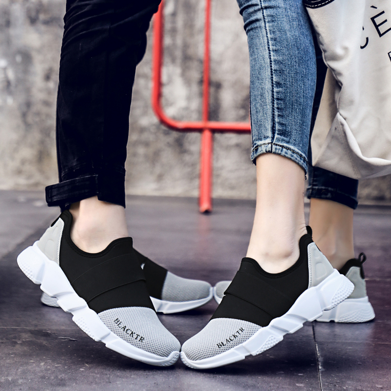 Image 5 - Size 36 46 Unisex Shoes Woman Handmade Womens Shoes Slip On zapatos de mujer Sneakers Gift for Lover Couple sapato femininoWomens Flats   -
