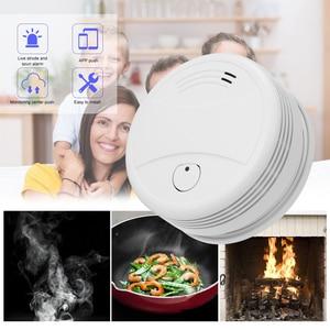Image 5 - Tuya Intelligente Wifi Strobe Rauchmelder Wireless Feuer Alarm Sensor Tuya APP Control Office Home Rauch Alarm Feuer Protectio