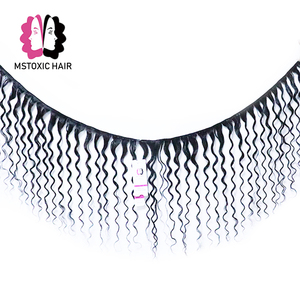 Image 2 - MSTOXIC מים גל חבילות עם סגירת שיער טבעי חבילות עם סגירה ברזילאי שיער Weave חבילות עם סגירת רמי שיער