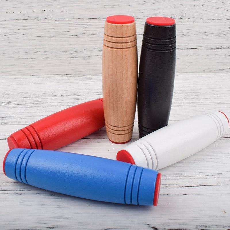 6 Colors Antistress Mokuru Rollver Desktop Flip Toys Funny Toy Fidget Stick Relieve Stress Improve Focus Toys For Children Adult