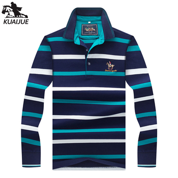 polo shirt men Spring new quality mens cotton long sleeve stitching stripes embroidery lapel youth Business casual polo shirt851 polo shirt men summer new high quality mens short sleeve polo shirt casual men stand collar fashion mens business polo shirt8636