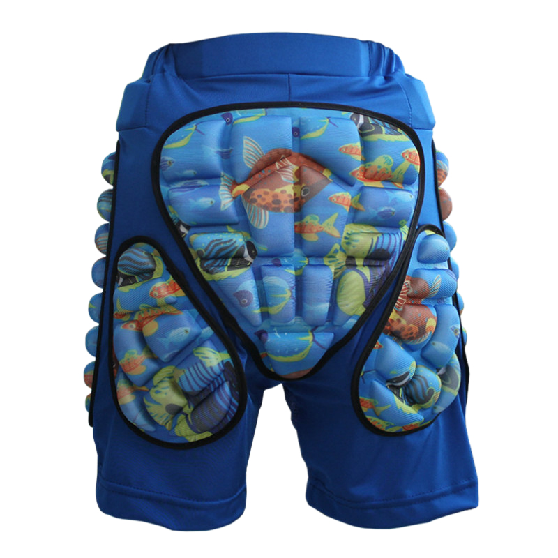 Soared Children Outdoor Sports Skiing Skating Snowboarding Shorts Hip Protective Bottom Padded For Ski And Roller Skate And Snow