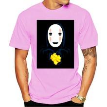 T-camisa do fantasma de gost do homem rosto 2021, camiseta de moda de ocio, 100% de algodón