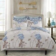 Conjunto de cama luxo 2/3 peça conjunto colcha capa jacquard dupla face impresso capa de edredão fronha 220x240 rainha rei tamanho