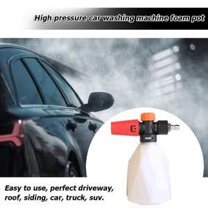 Quick-Release-Connector Pressure-Washer Foam-Lance Snow-Foam Cannon-G1/4 Gun 500ml