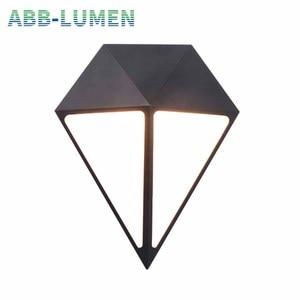LED outdoor waterproof wall la