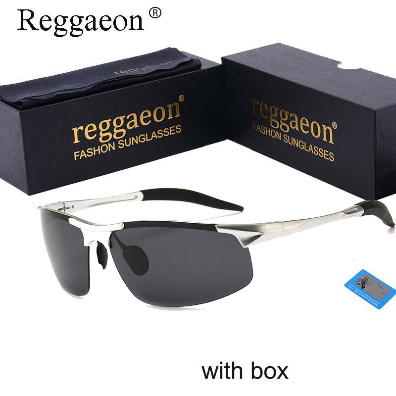 Luxury Aluminum Magnesium Polarized Sunglasses For Men Women Uv400 High Quality 2020 Half Frame Male Blue Shades Driver