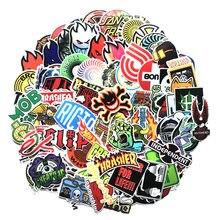 Autocollants branchés, stickers de mode pour valise, ordinateur portable, de skateboard, cool, pour la voiture, le réfrigérateur, les bagages, DIY, bricolage, paquet de 100 pièces