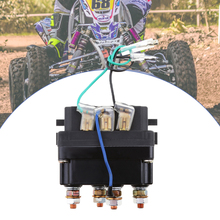 12V 500A ATV Winch Solenoid Contactor Relay Universal For 9500 17000lbs ATV UTV 4WD 4x4 Winches Replacement 80*7.5*40.5mm 2019